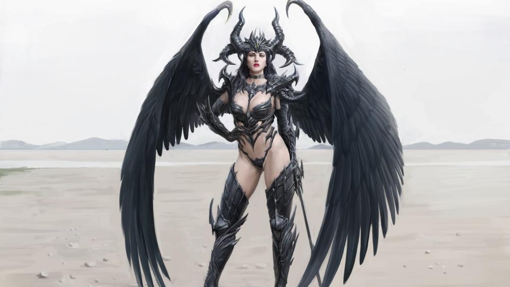 Demon Queen wallpaper