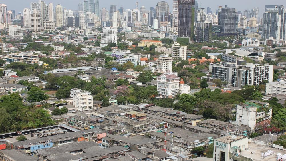 Bangkok Cityscape wallpaper