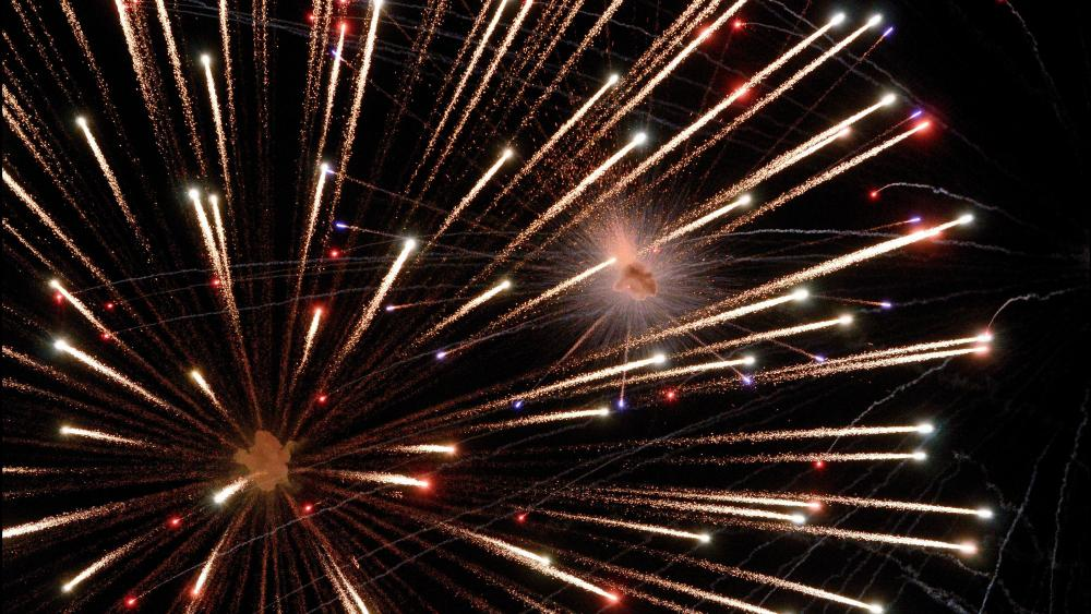 Fireworks in Florence wallpaper