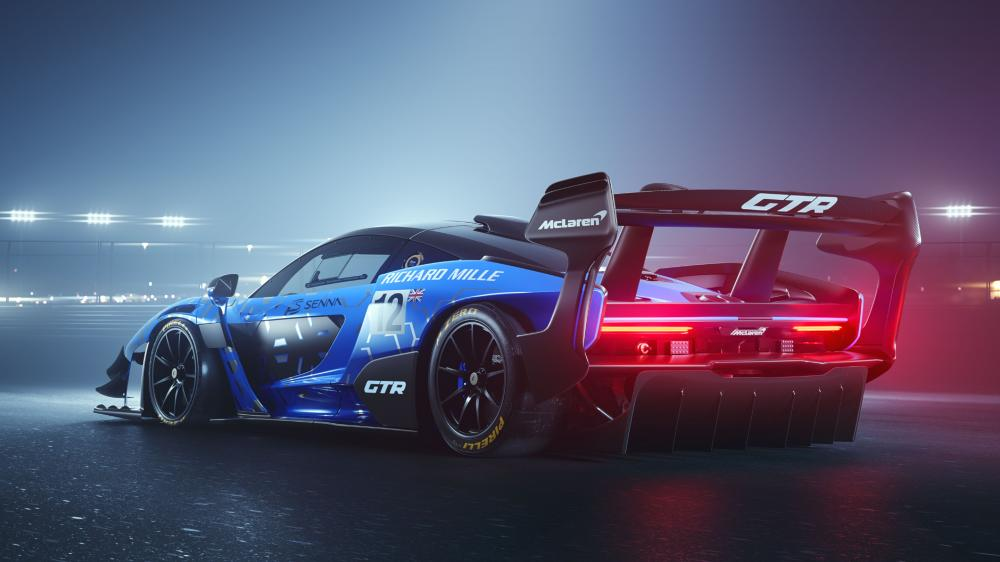 McLaren Senna GTR 2019 wallpaper