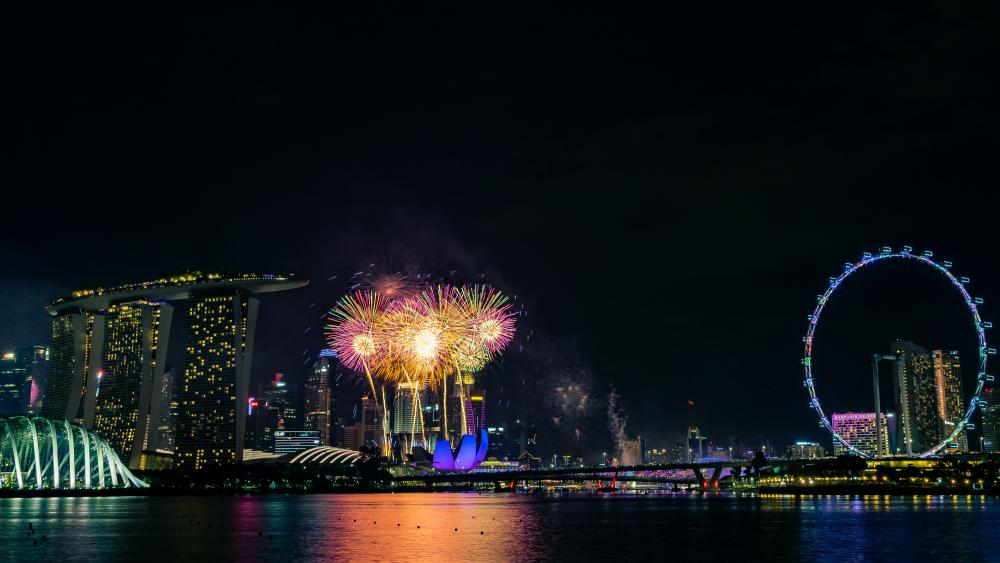 New Years Eve in Singapore wallpaper