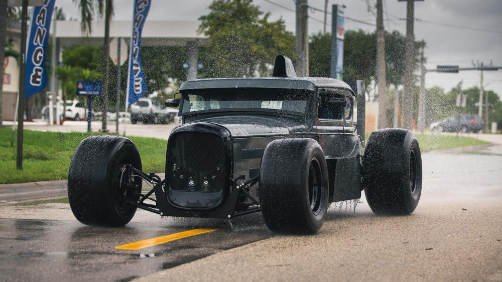 Ford hot rod wallpaper