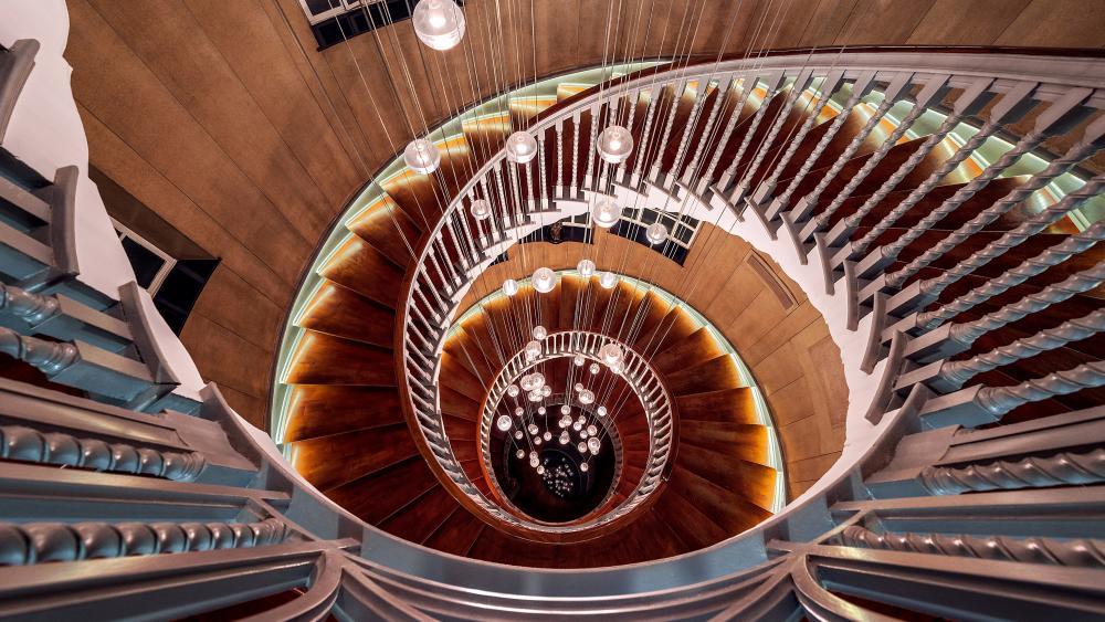 Spiral Staircase wallpaper