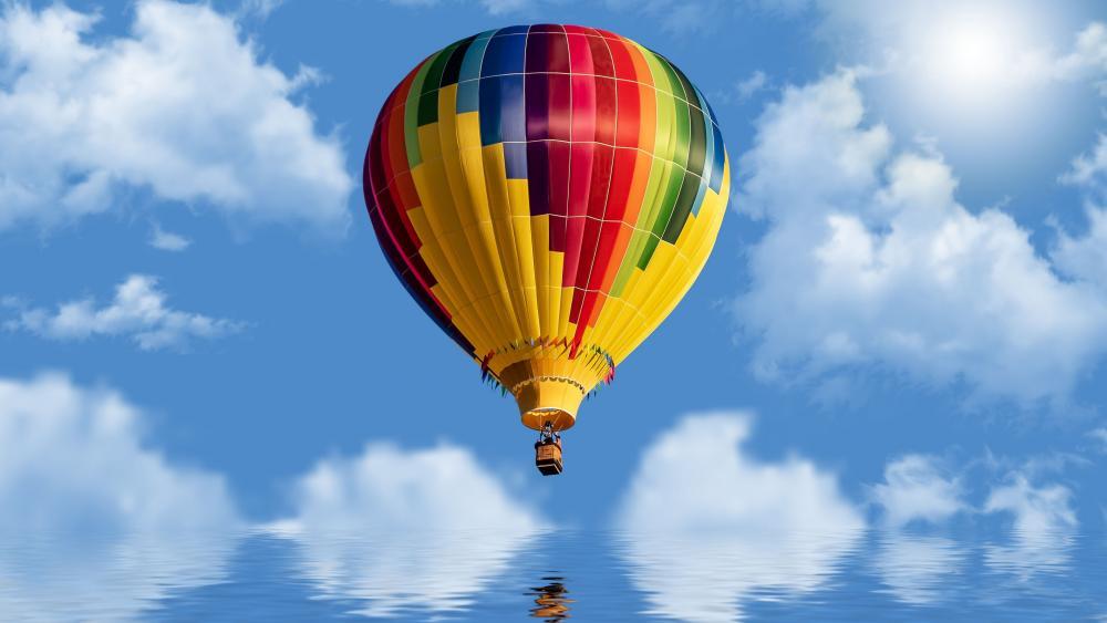 Colorful ballon wallpaper