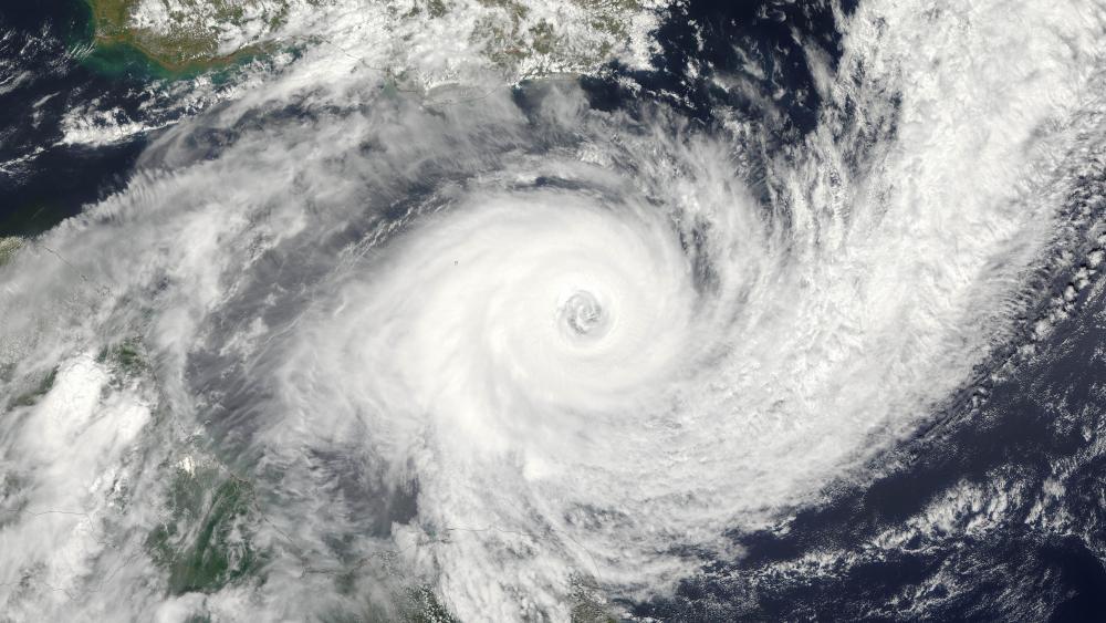 Tropical Cyclone Funso wallpaper