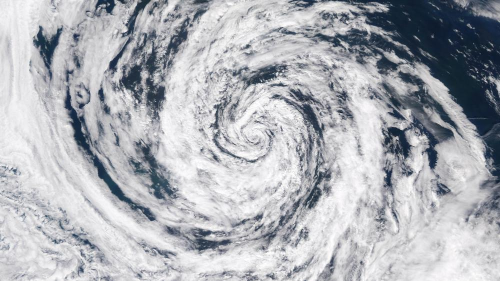 Low Pressure System in the Gulf of Alaska wallpaper