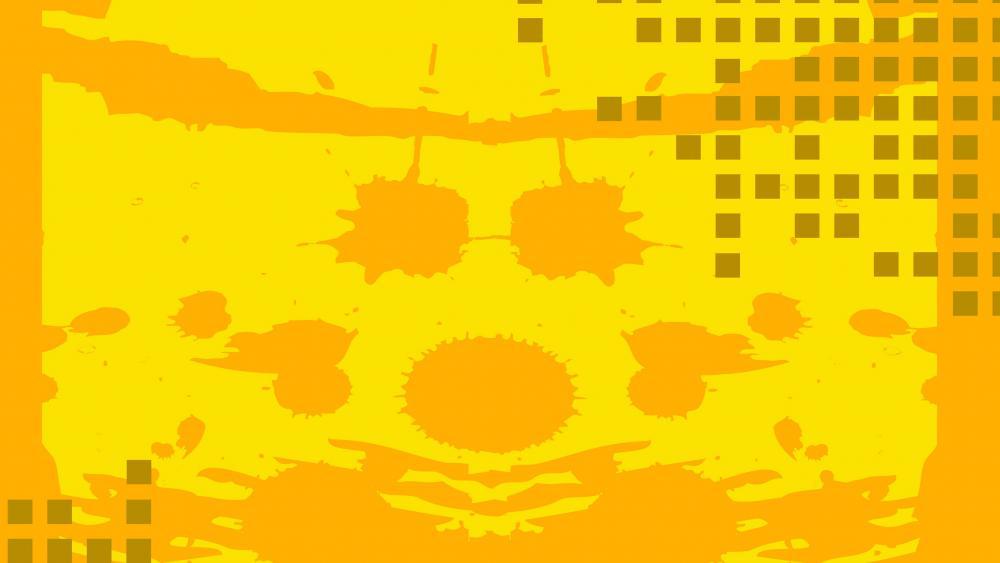 Rorschach abstraction wallpaper
