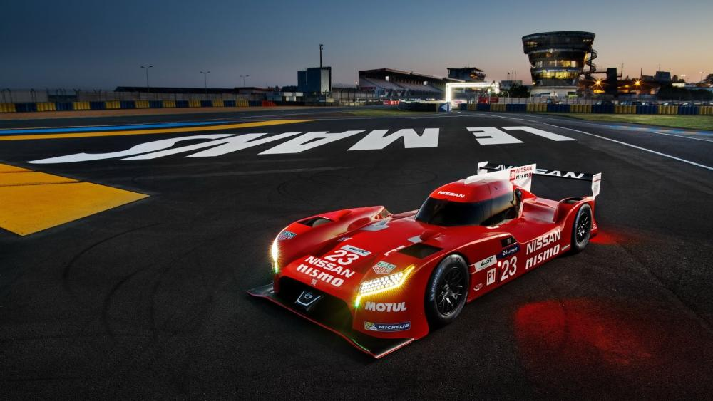 Nissan GT-R LM Nismo wallpaper