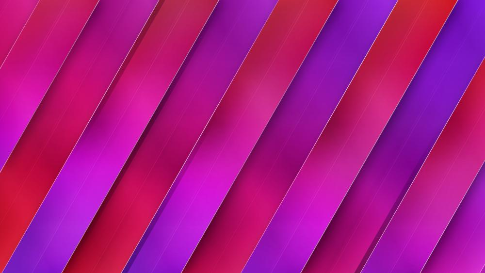 Pink and purple stripes wallpaper