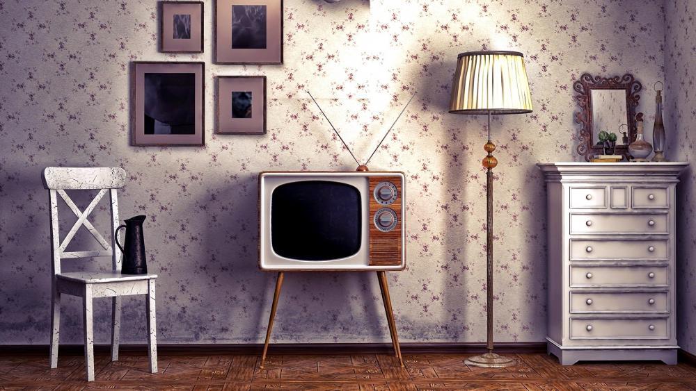 Vintage Room wallpaper