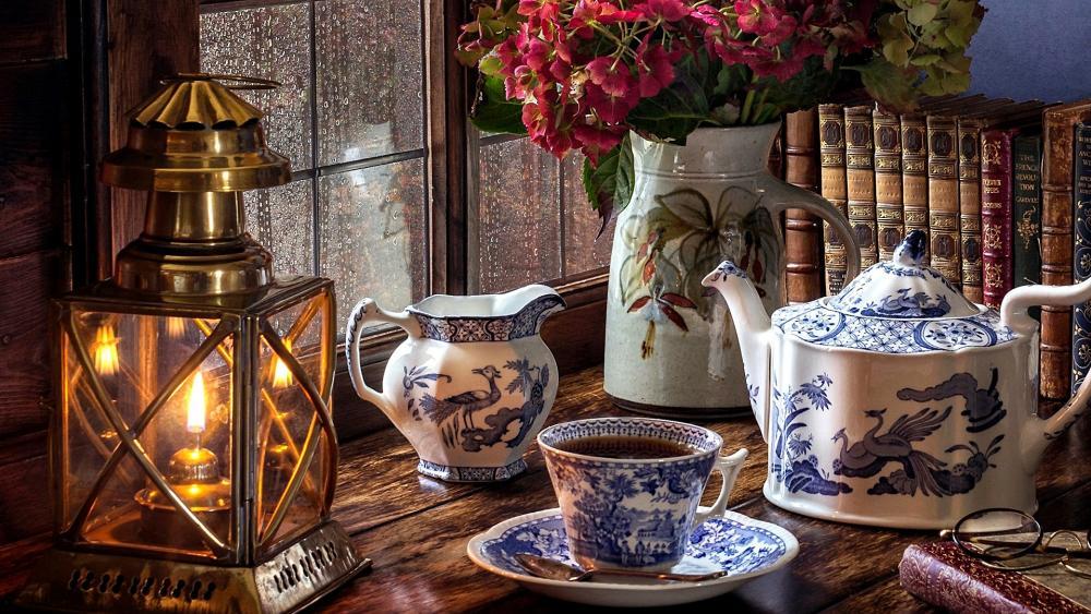 An Excellent Tea wallpaper