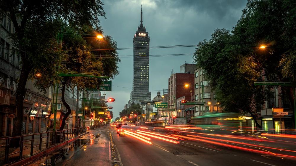 Torre Latinoamericana wallpaper