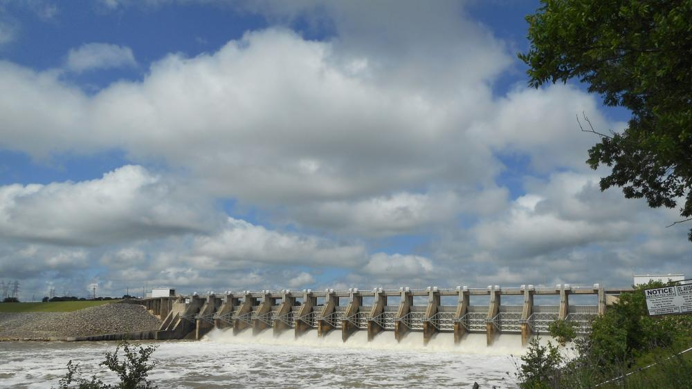 Granbury dam wallpaper