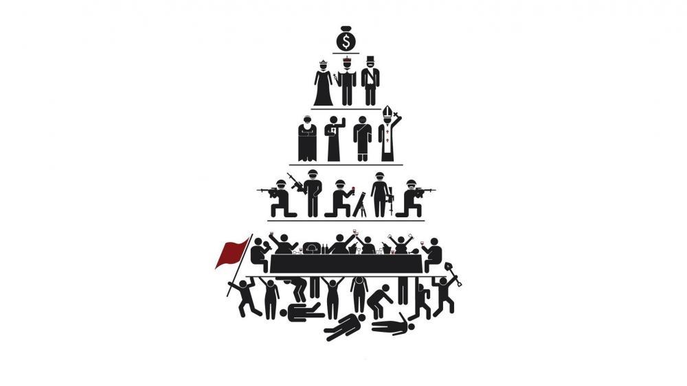 Maslow pyramid - A Theory of Human Motivation wallpaper