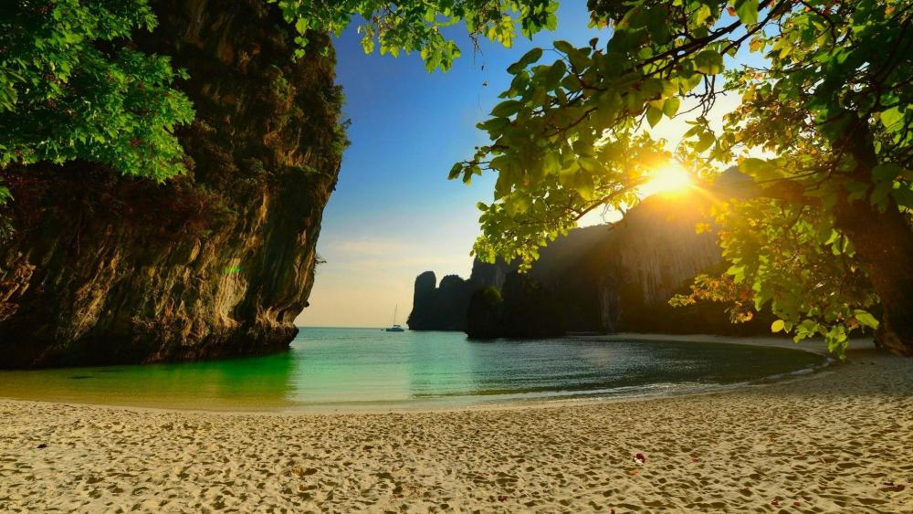 Beach in Thailand wallpaper