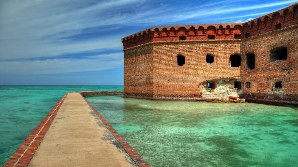 Dry Tortugas National Park, Fort Jefferson wallpaper