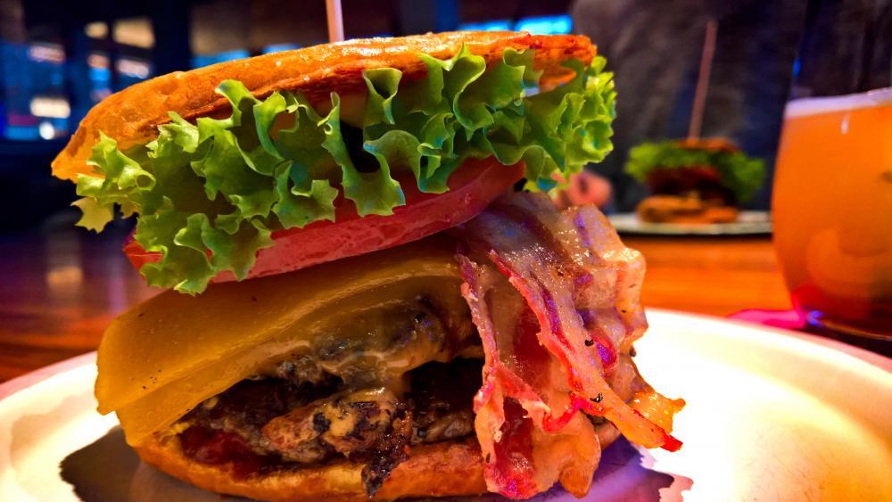 Burger wallpaper