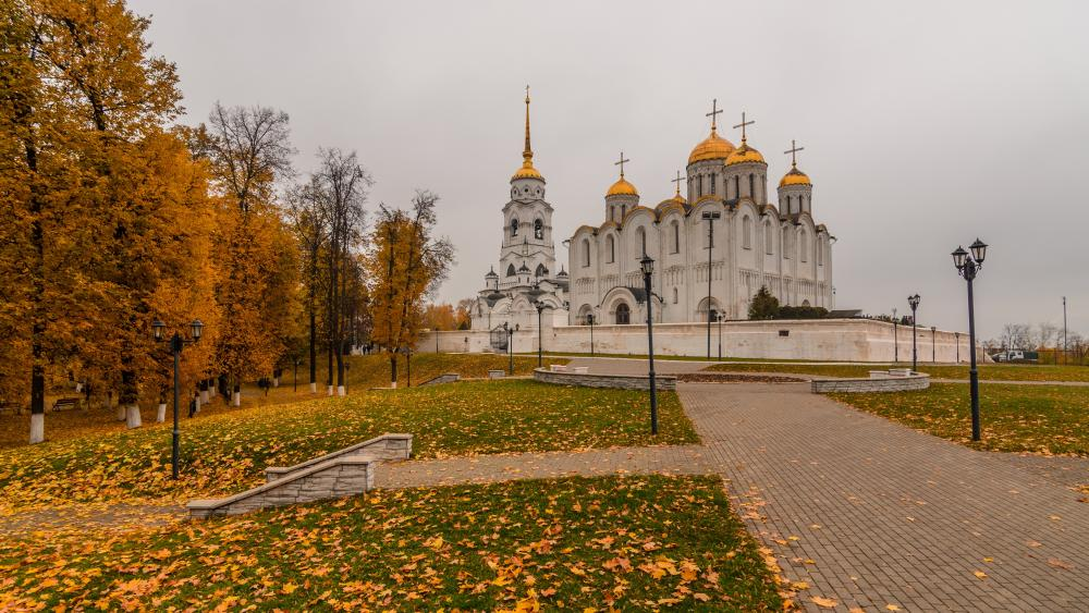 Dormition Cathedral wallpaper