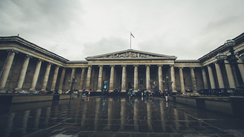 British Museum wallpaper