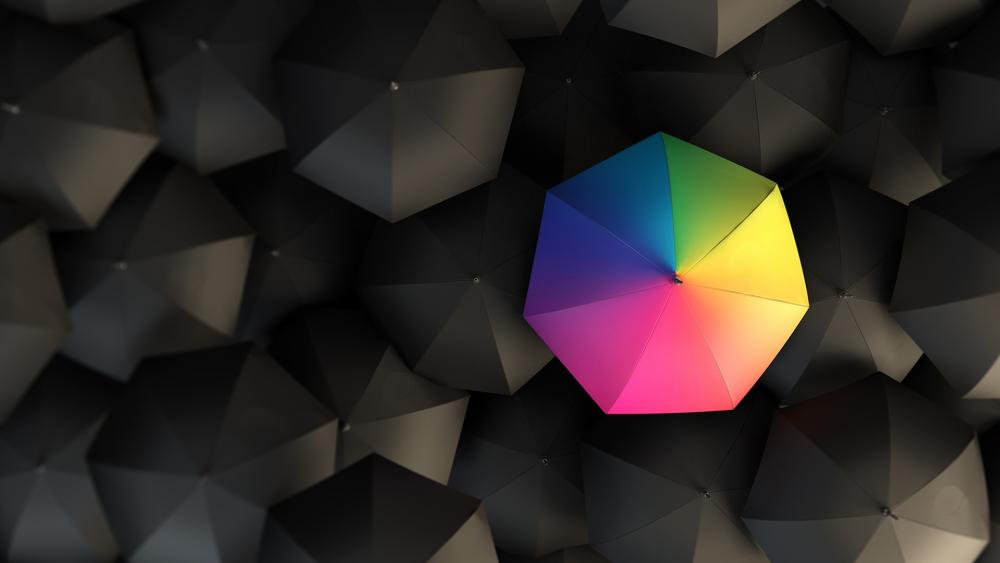 Opposite Colours wallpaper