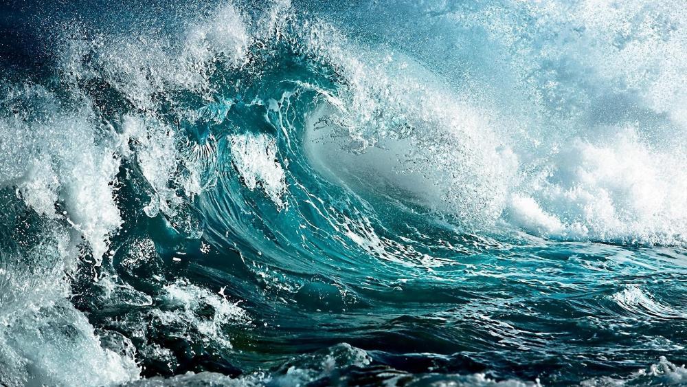 Sea breeze wallpaper
