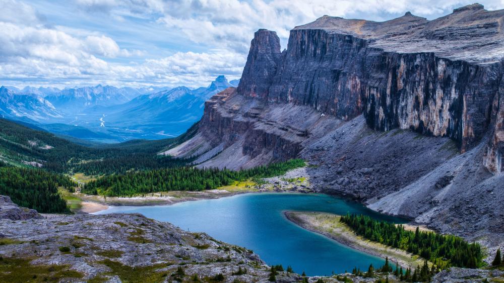 Rockbound Lake (Banff National Park) wallpaper