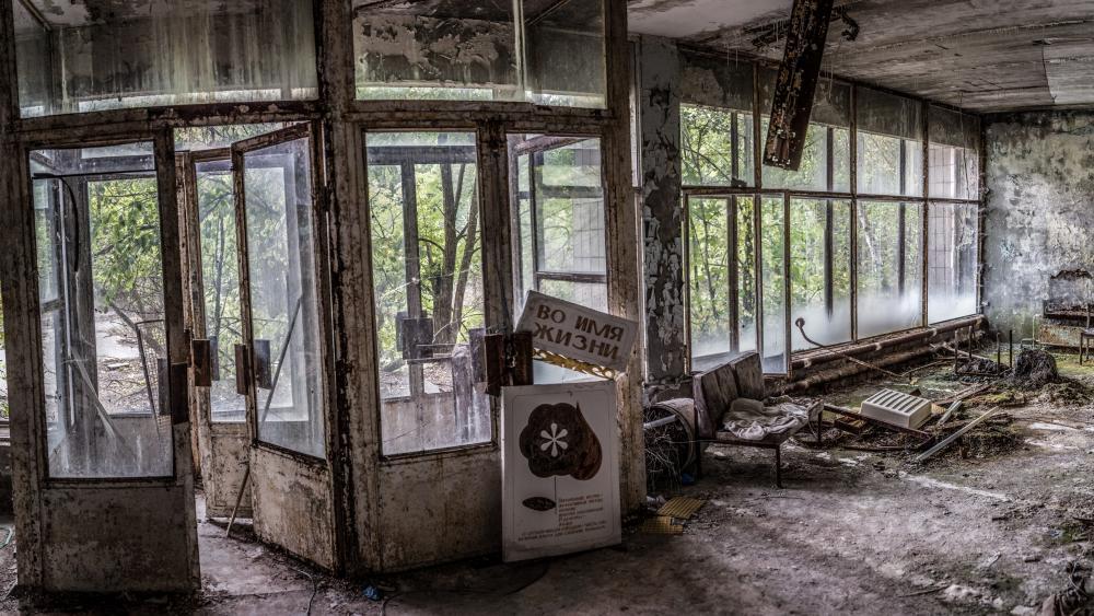 The abandoned city of Pripyat wallpaper