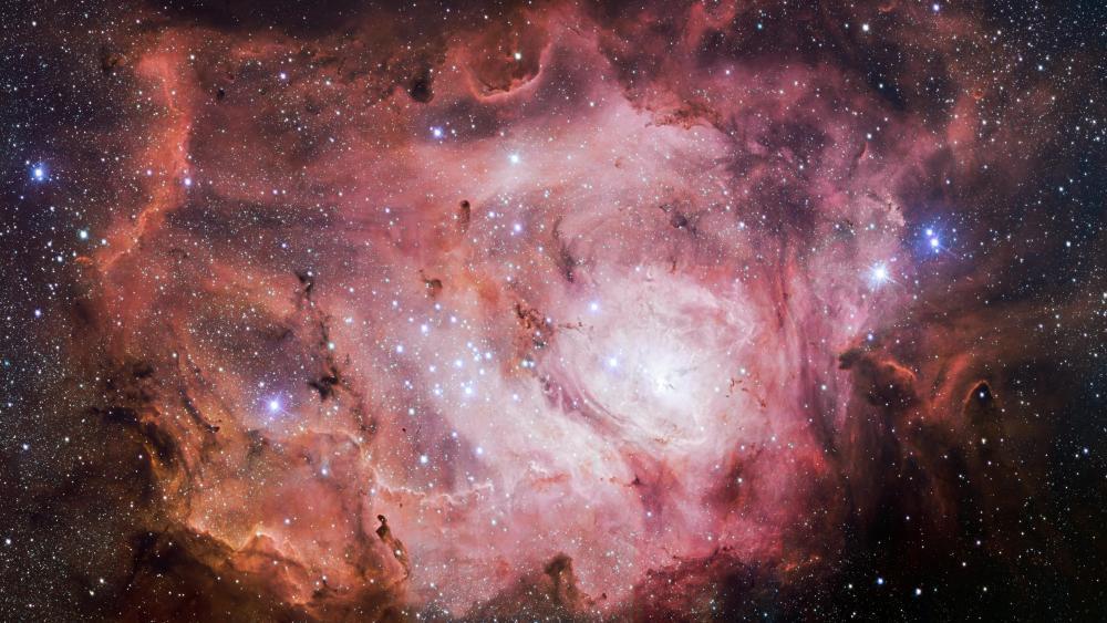 Lagoon Nebula wallpaper