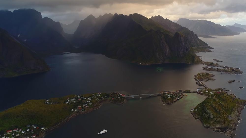 Beauty of Norway wallpaper