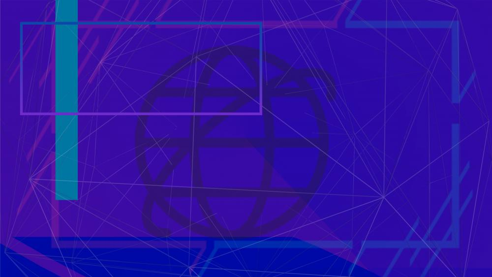Internet representation wallpaper