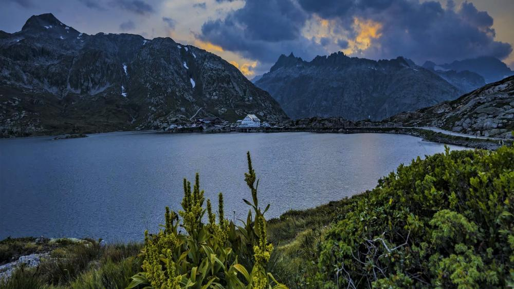 Swiss nature landscape wallpaper
