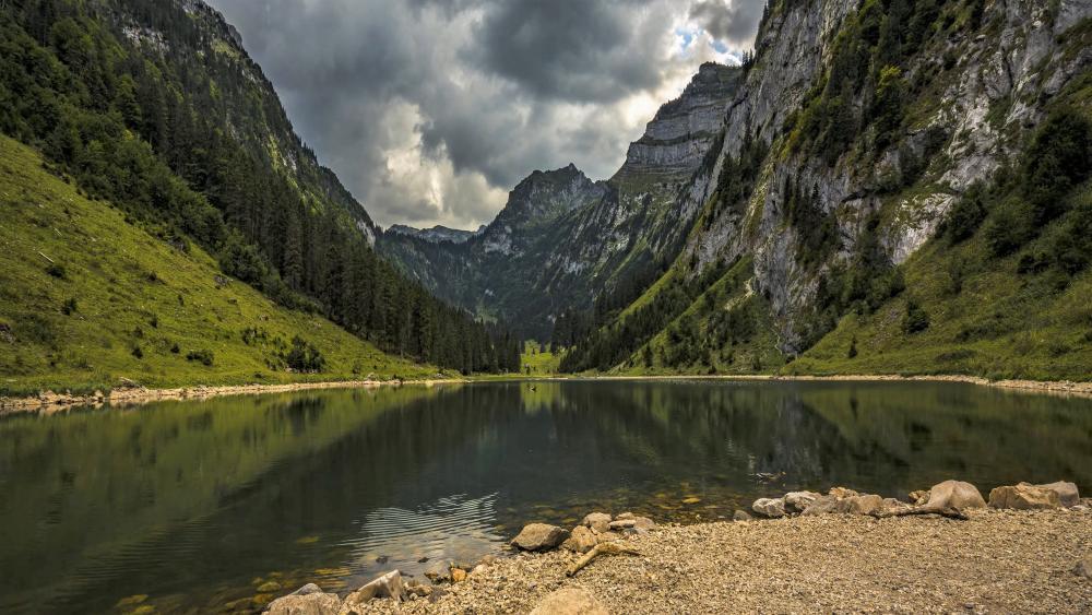 Swiss nature wallpaper