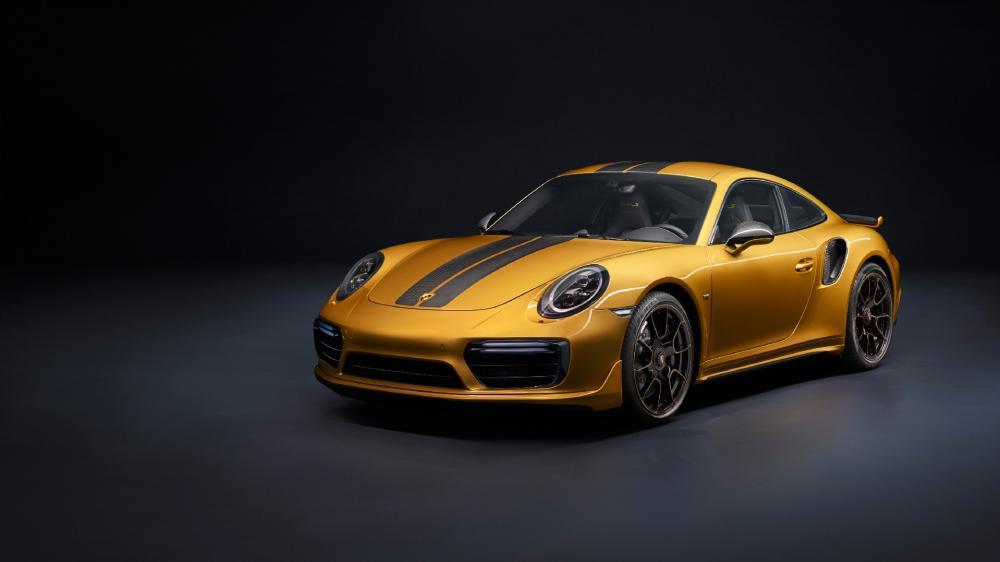 Porsche 911 Turbo S Exclusive Series wallpaper