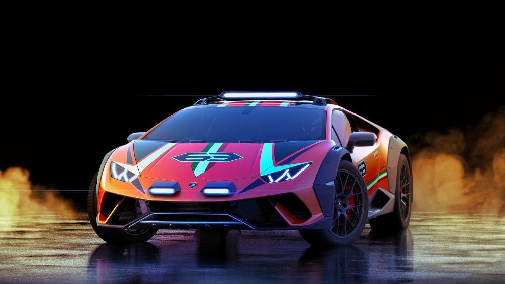 Lamborghini Huracán Sterrato wallpaper
