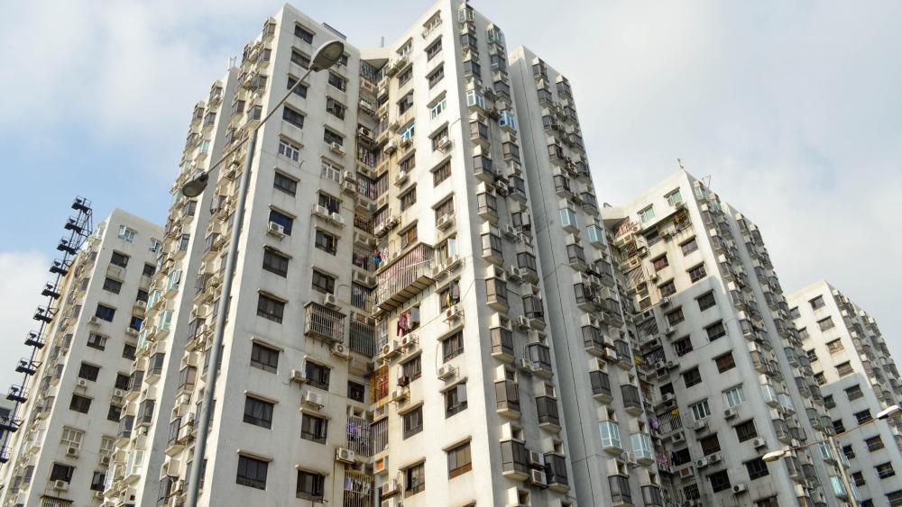 Apartments in Macau wallpaper