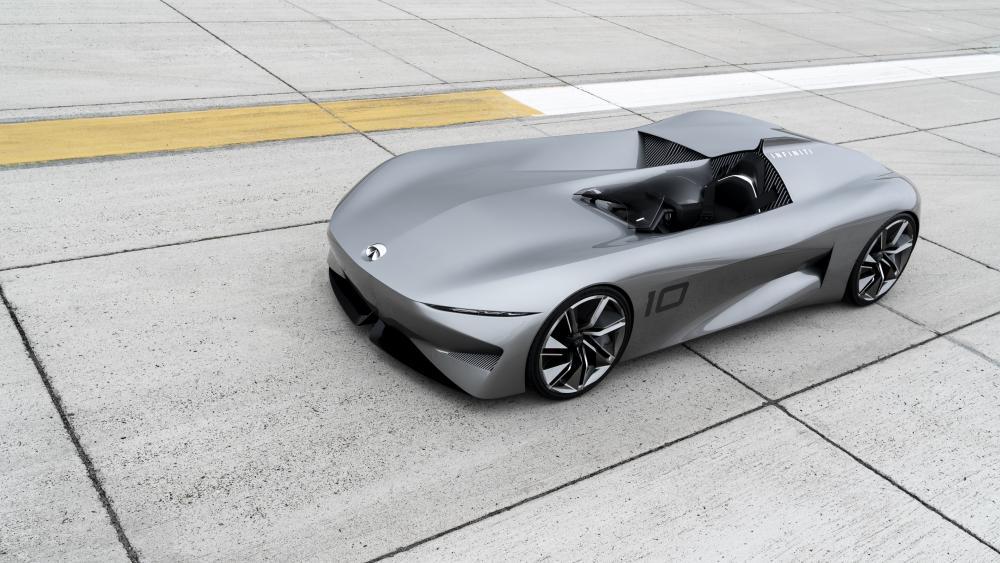Infiniti Prototype 10 concept car wallpaper