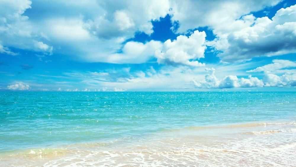 Summer sea wallpaper