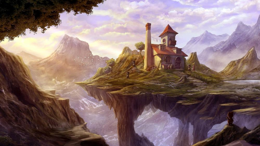Fantasy Landscape Painting wallpaper