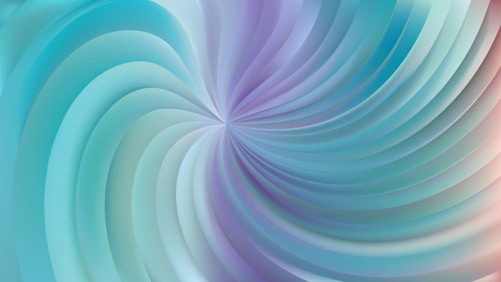 Blue swirl wallpaper