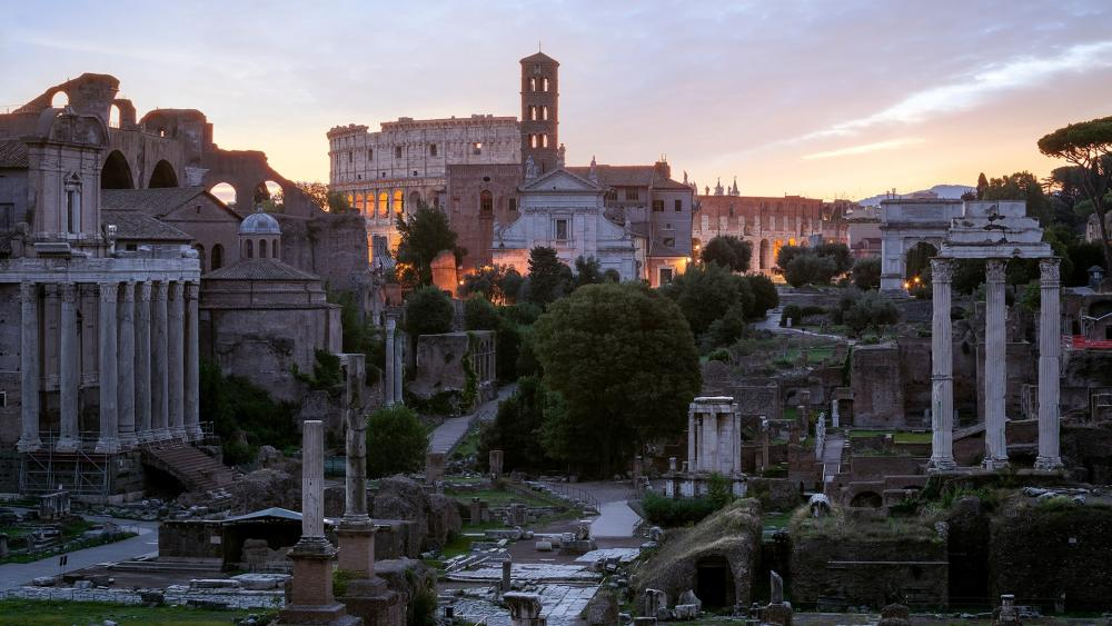 Roman Forum wallpaper