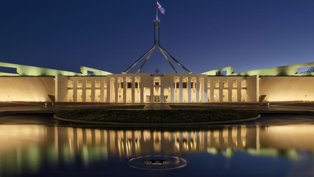 Parliament House, Canberra, Australia wallpaper