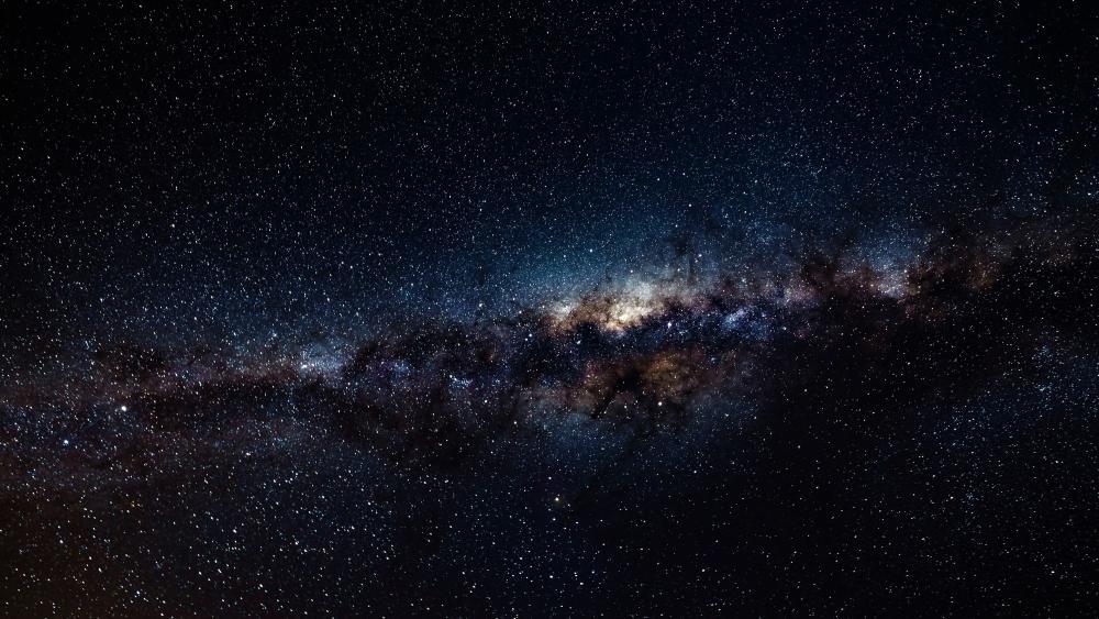 Milky way over Atacama Desert wallpaper