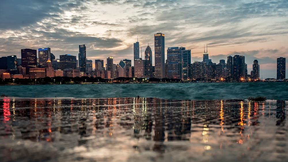 Chicago Skyline wallpaper