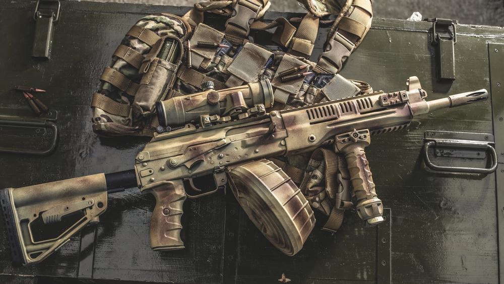 Kalashnikov wallpaper