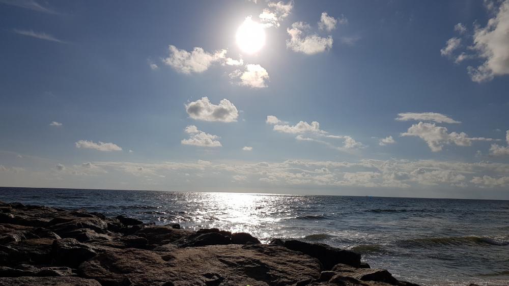 Kovalam beach sea view wallpaper