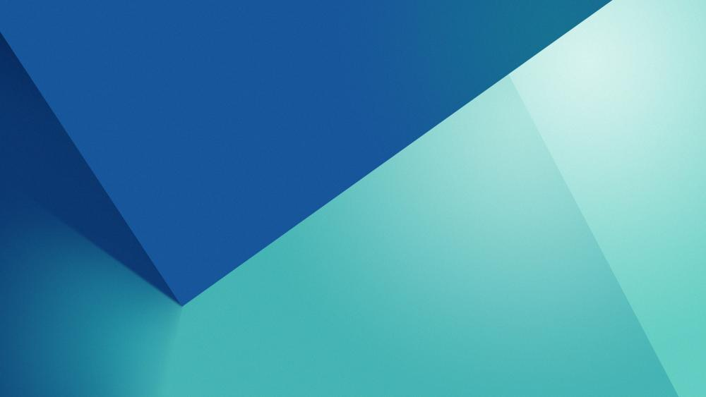 Blue Material Design wallpaper