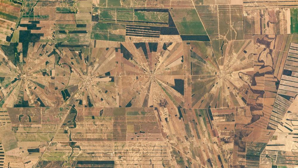 Pinwheel Squares in Bolivia wallpaper