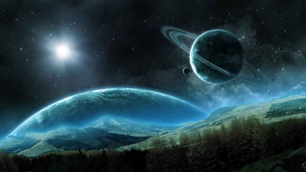 Fantasy planet wallpaper