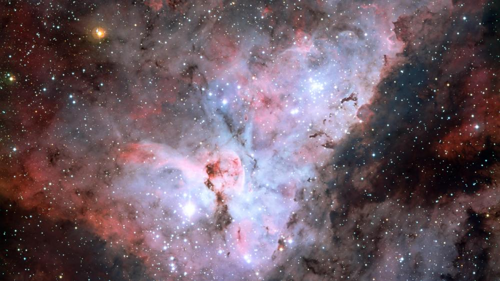 The Carina Nebula (NGC 3372) & Eta Carinae wallpaper