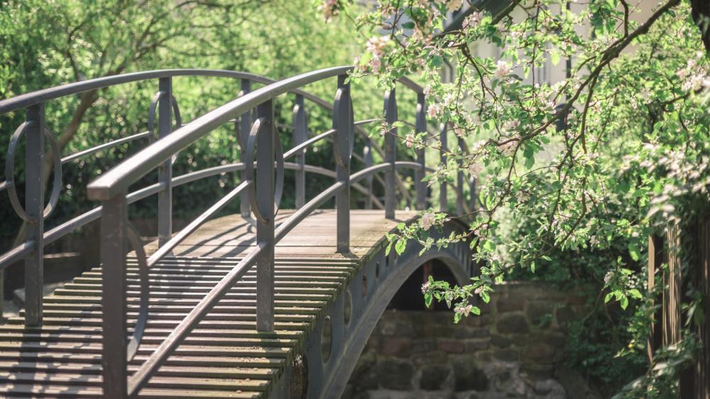 Garden Bridge wallpaper